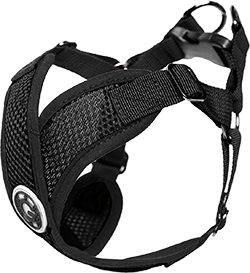 Gooby Dog Harness - Black, Small