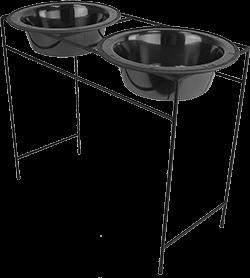 Platinum Pets Modern Double Diner Feeder