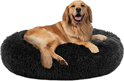 PUPPBUDD Calming Dog Bed