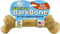 eal Bacon Infused Dinosaur BarkBone