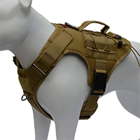 ALBCORP Tactical Dog Vest Harness