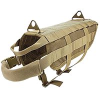 Ultrafun Tactical Dog Molle Vest