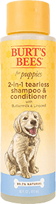Burt's Bees for Dogs 2 in 1 Dog Shampoo