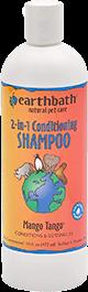 Earthbath Mango Tango 2-In-1 Conditioning Natural Shampoo